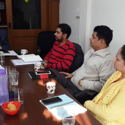 ICB Meeting held at SIS Office