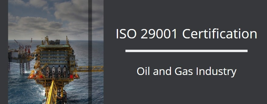 ISO 29001 Certification